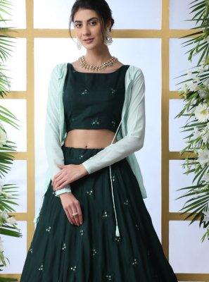Trendy Designer Lehenga Choli For Reception