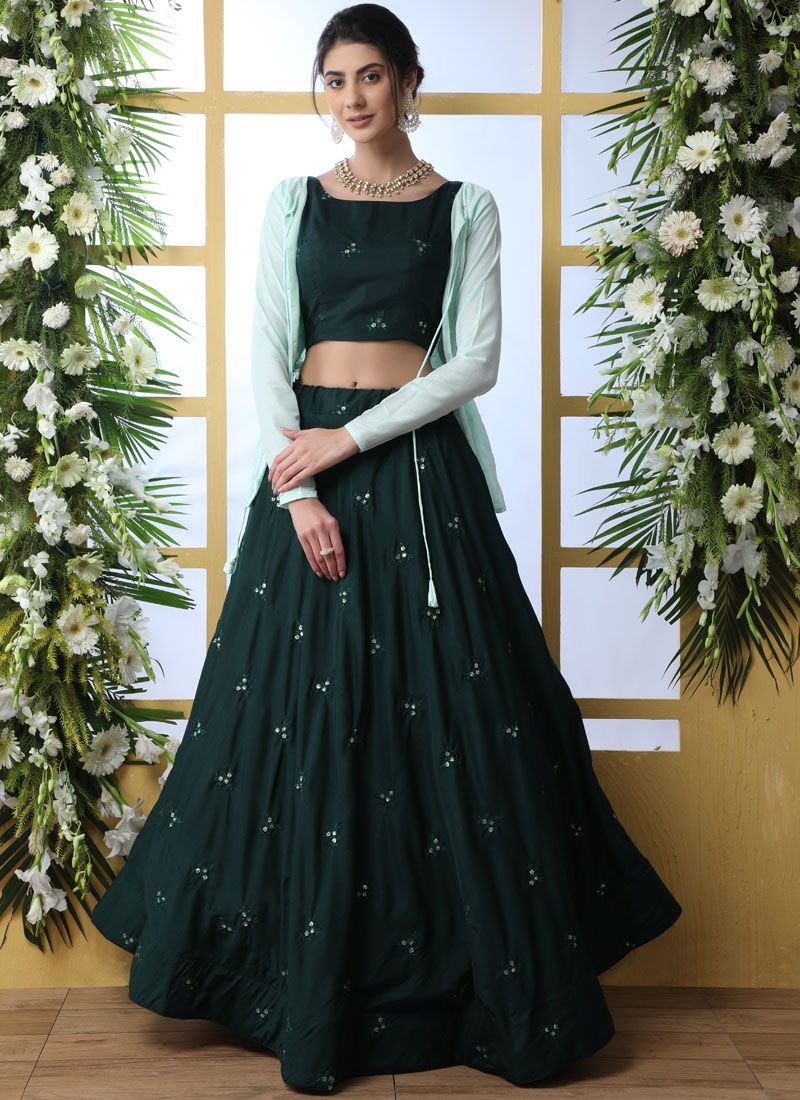 Trendy Designer Lehenga Choli For Reception