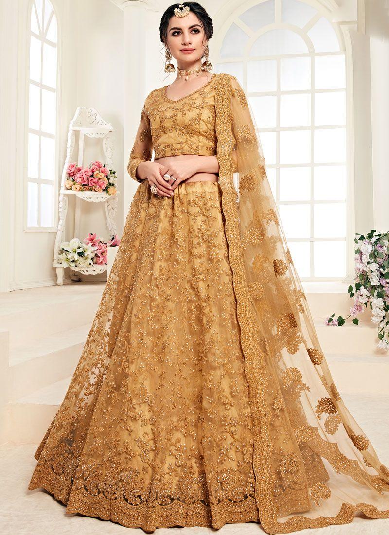 Trendy Lehenga Choli For Wedding