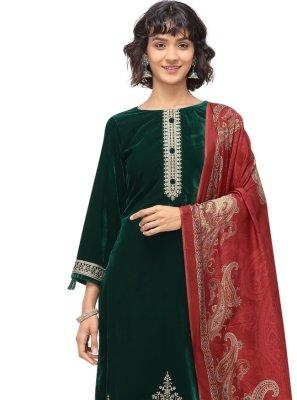 Velvet Festival Trendy Salwar Suit