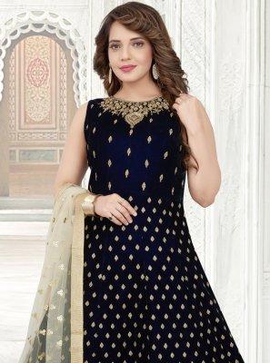 Velvet Zari Salwar Suit