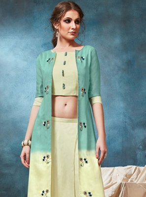Viscose Festival Party Wear Kurti