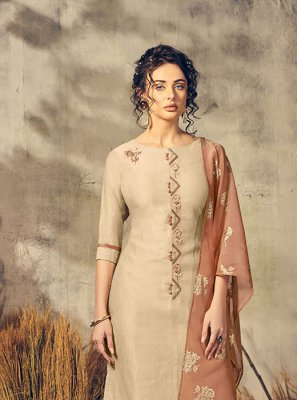 Viscose Handwork Party Wear Kurti