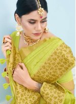 Weaving Art Silk Bollywood Saree