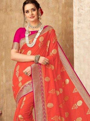 Weaving Art Silk Classic Saree