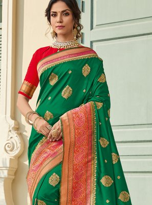 Weaving Art Silk Classic Saree