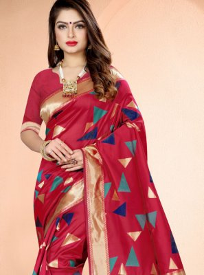 Weaving Banarasi Silk Classic Saree
