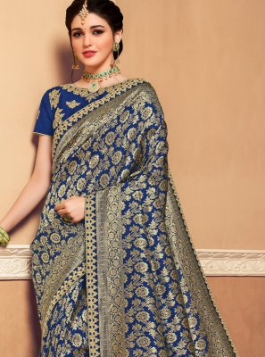 Weaving Banarasi Silk Designer Saree
