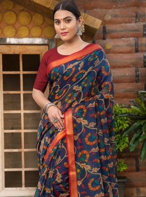 Weaving Casual Contemporary Saree