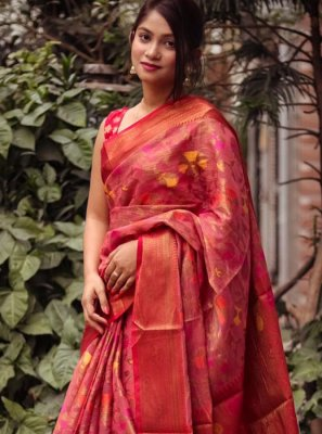 Weaving Casual Designer Saree