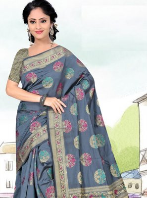 Weaving Casual Saree