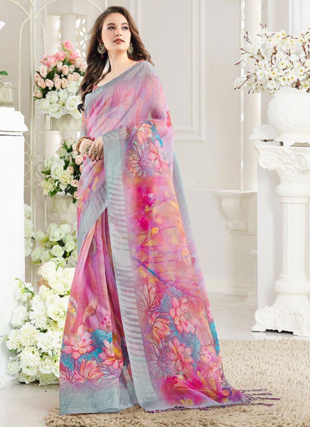 Weaving Casual Silk Saree
