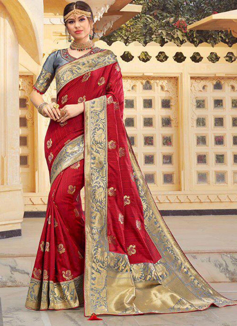 Weaving Ceremonial Classic Designer Saree