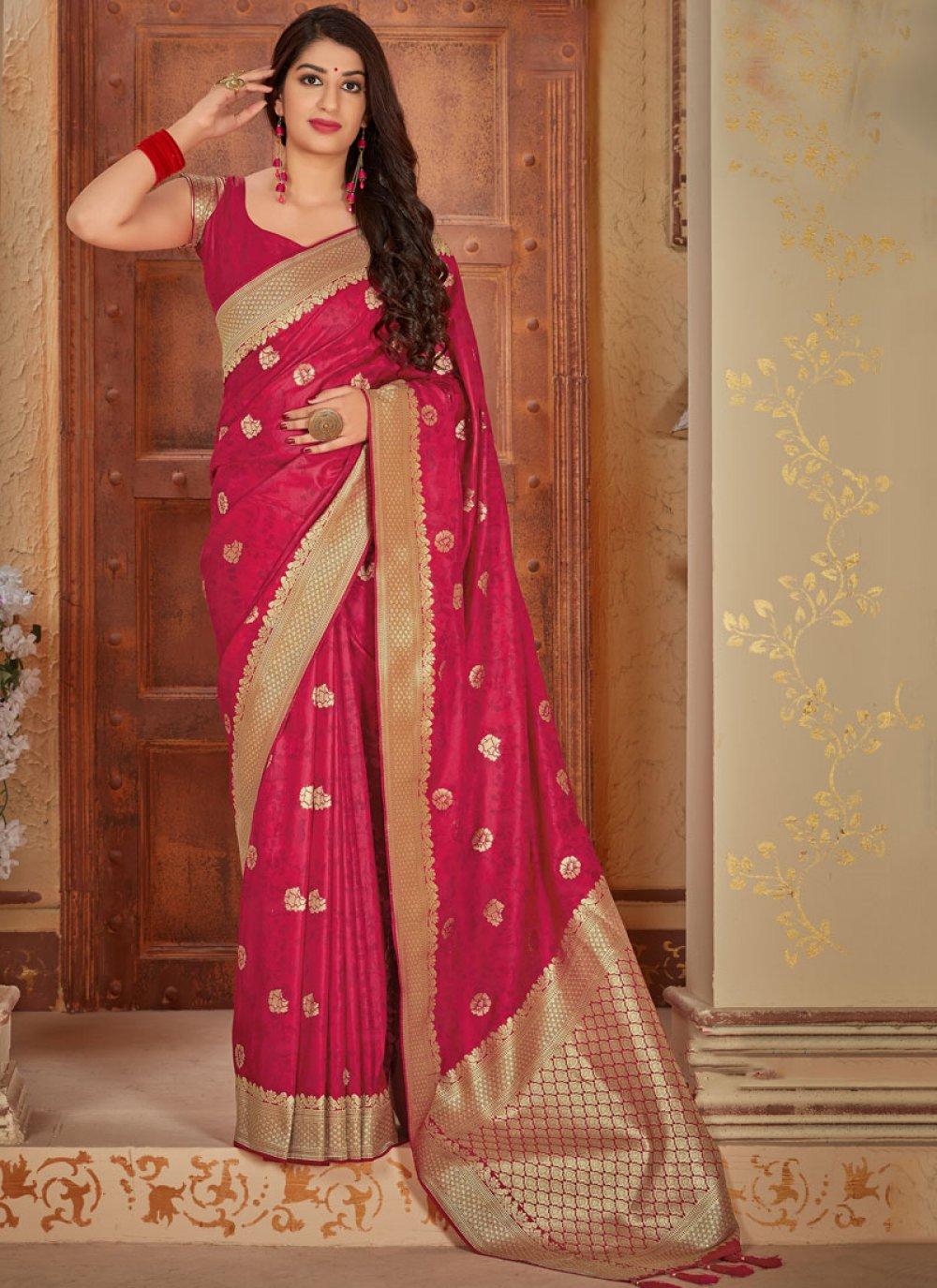 Weaving Classic Designer Saree
