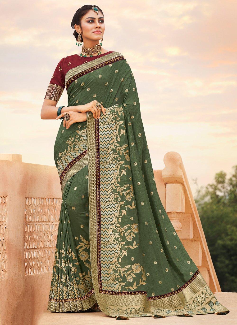 Weaving Contemporary Saree