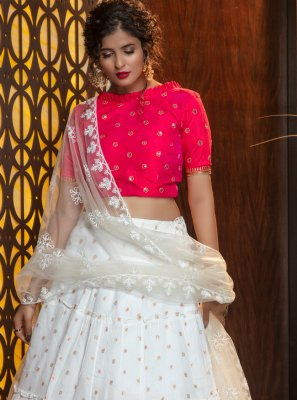 Weaving Cotton Bollywood Lehenga Choli