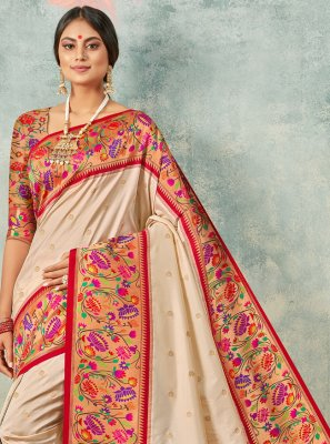 Weaving Handloom silk Trendy Saree