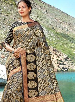 Weaving Multi Colour Classic Saree
