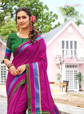 Weaving Multi Colour Trendy Saree