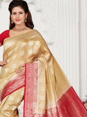 Weaving Party Classic Saree