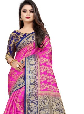 Weaving Party Contemporary Saree
