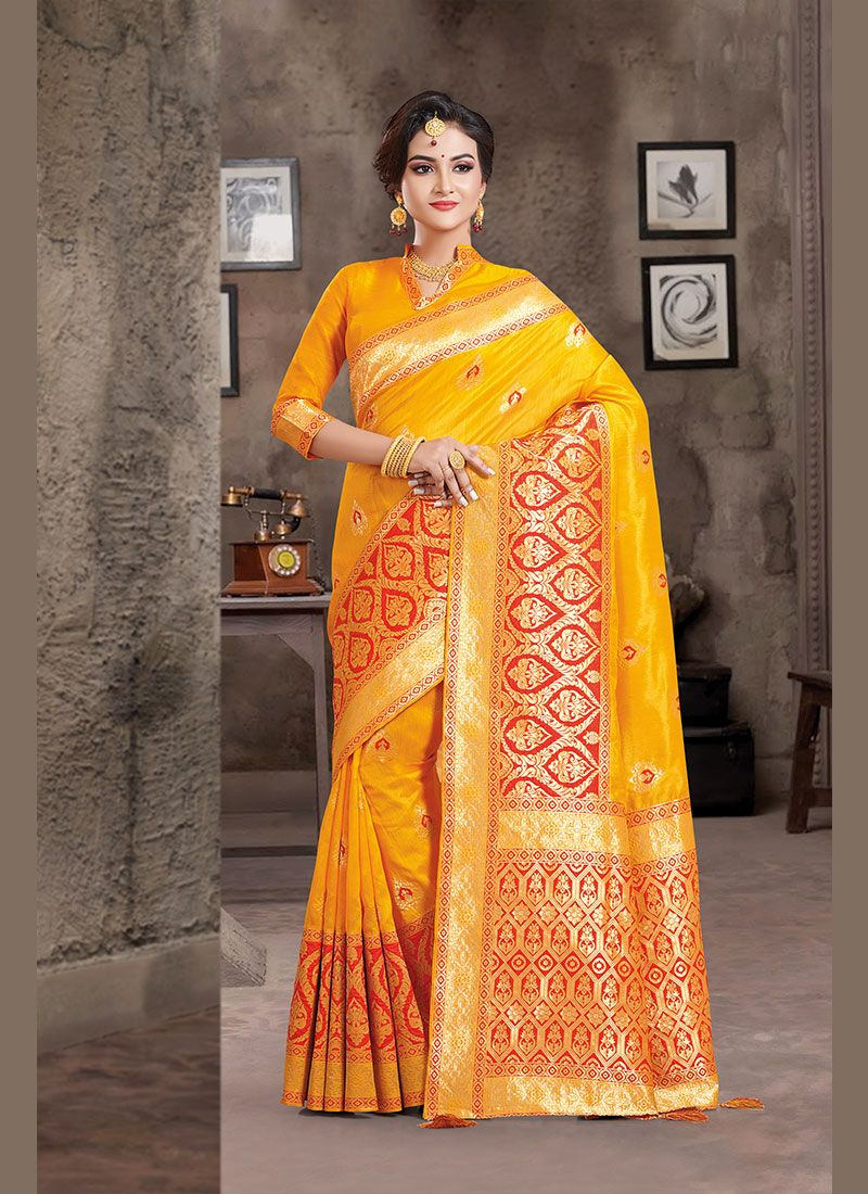 Weaving Party Traditional Designer Saree