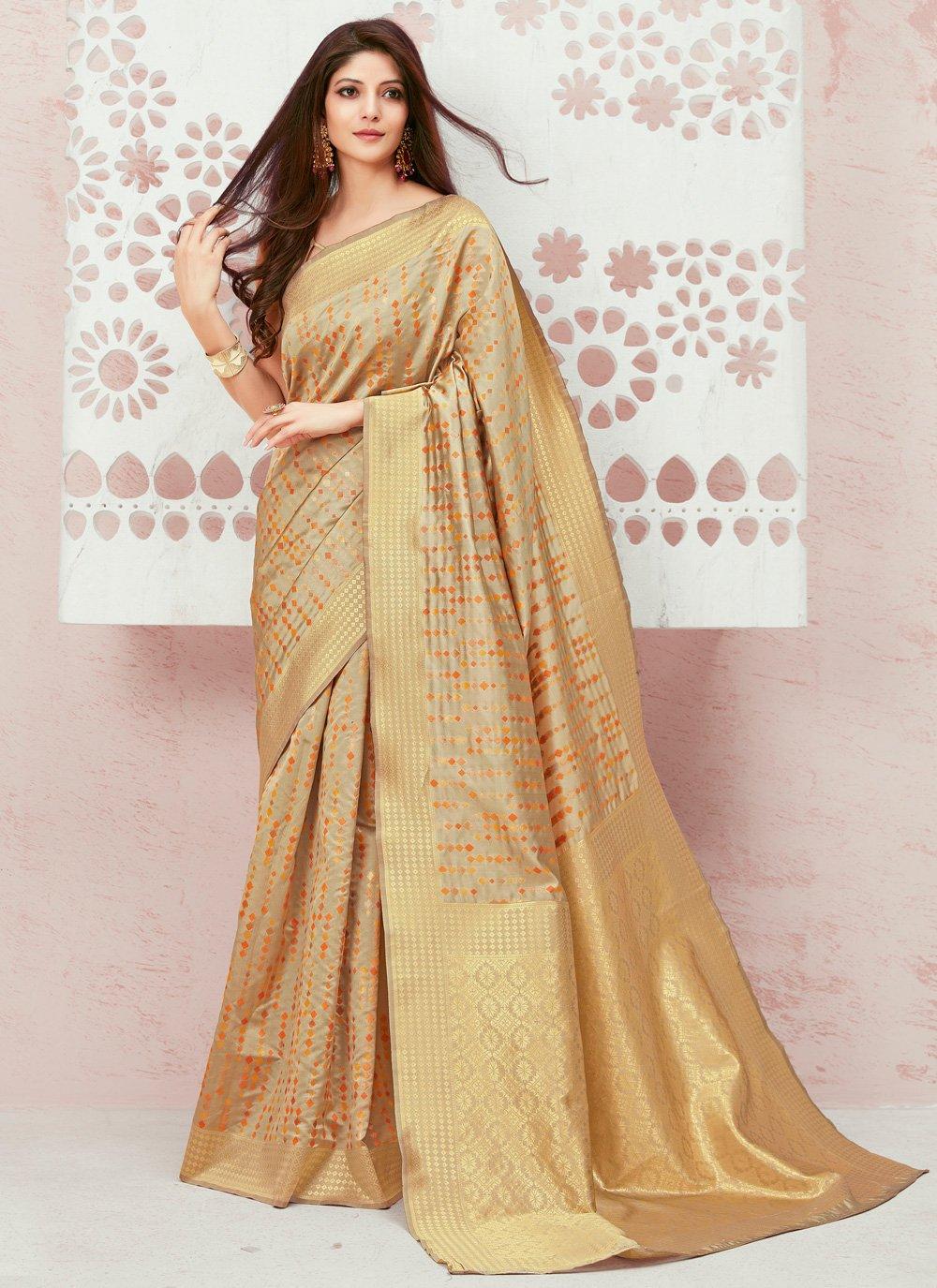 Weaving Party Trendy Saree