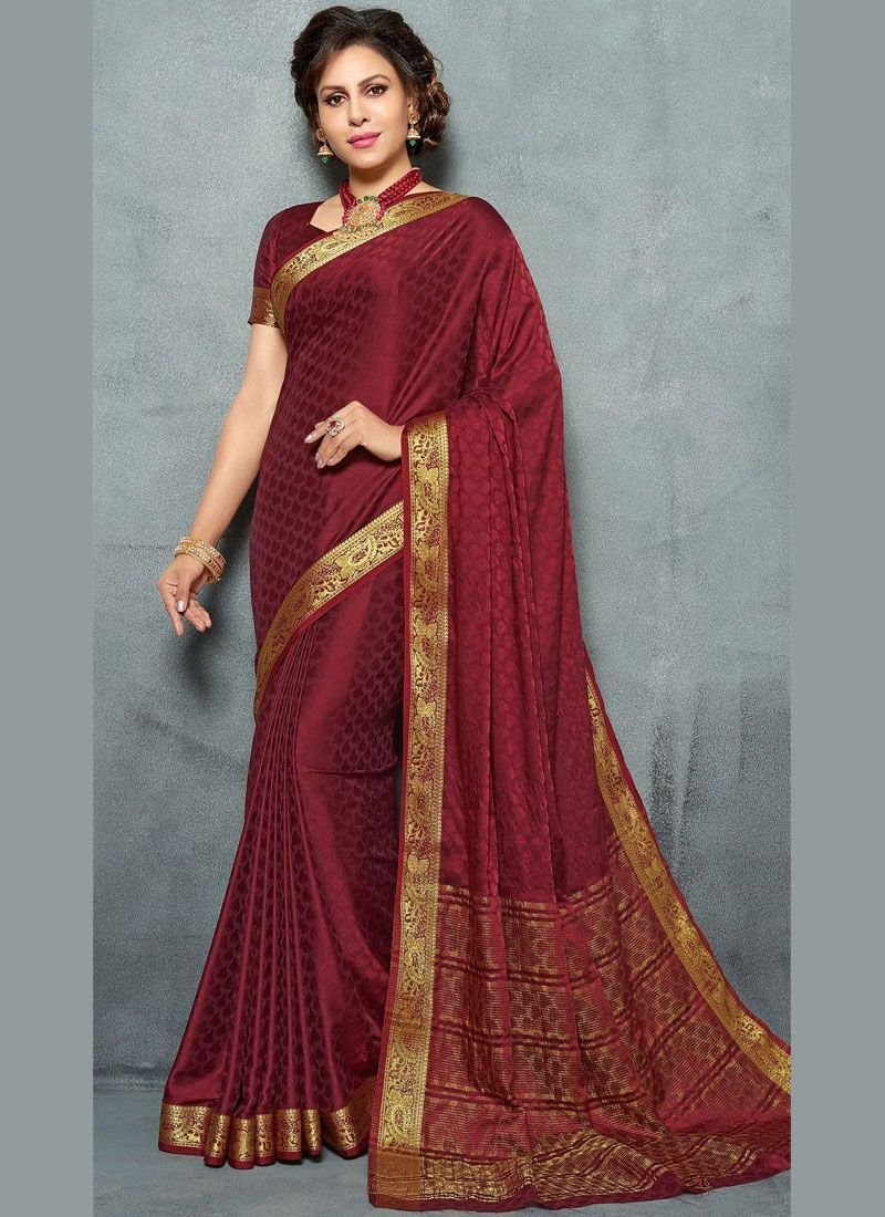 Weaving Reception Silk Saree