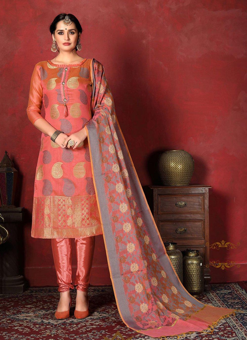 Weaving Salwar Suit