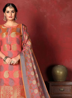 Weaving Salwar Suit