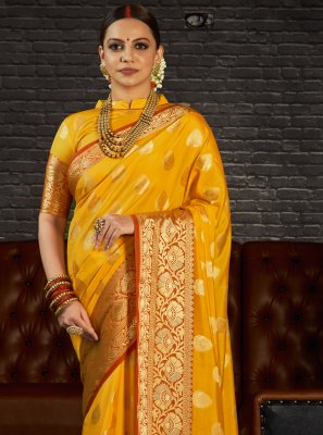Weaving Silk Designer Saree