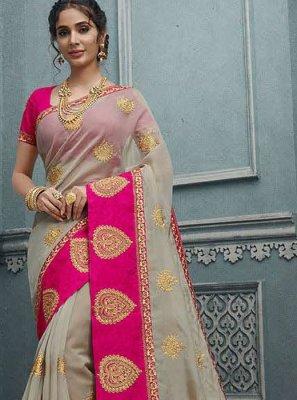 Weaving Silk Multi Colour Silk Saree