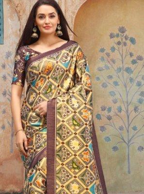 Weaving Silk Trendy Saree