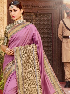Weaving Wedding Designer Saree