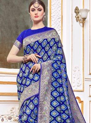 Weaving Wedding Traditional Designer Saree