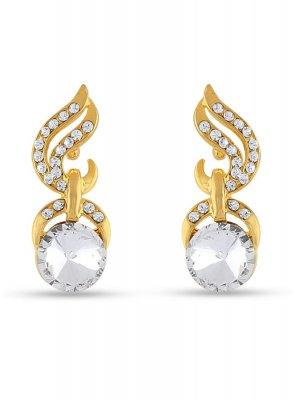 White Color Ear Rings