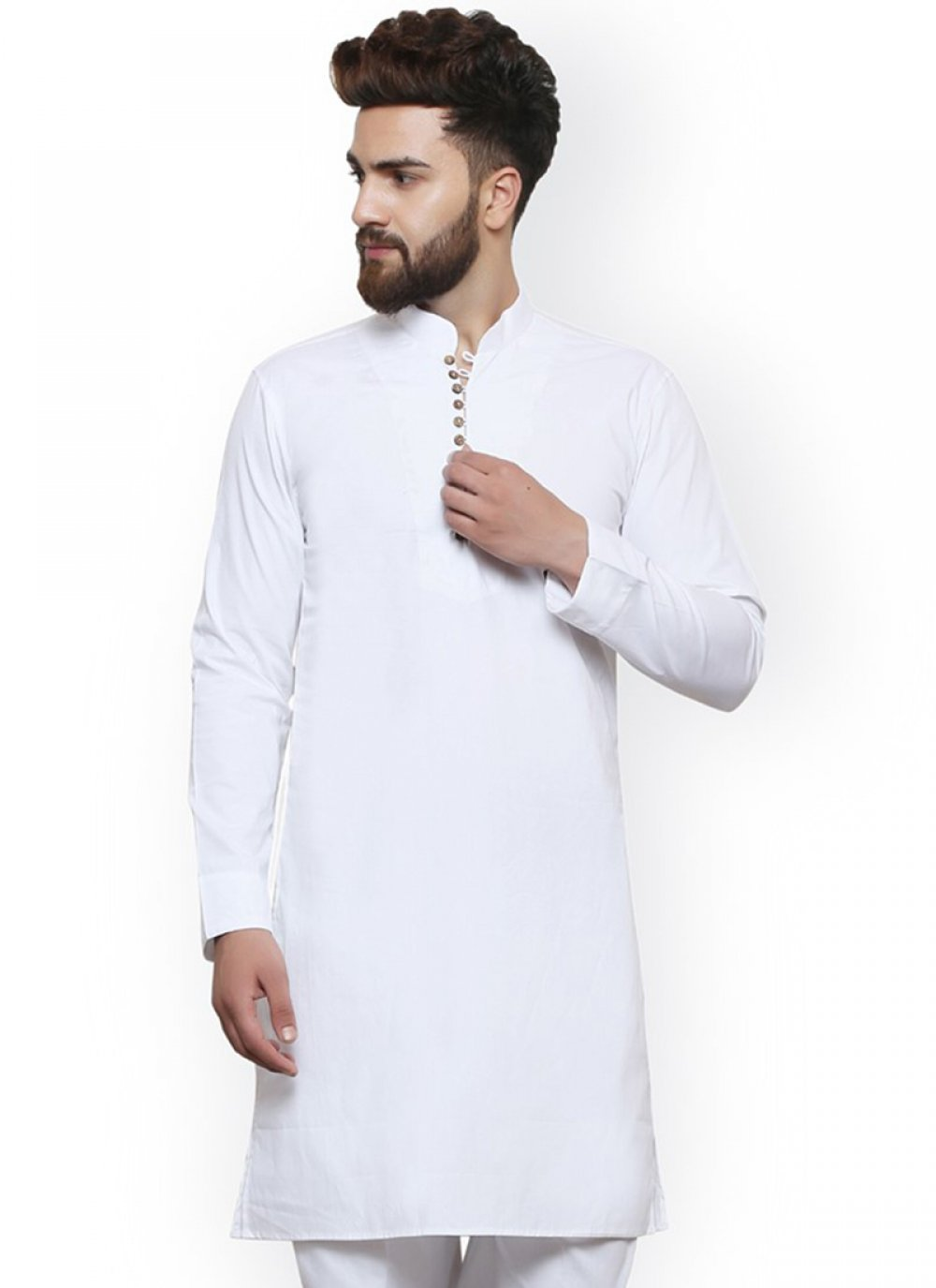 White Color Kurta