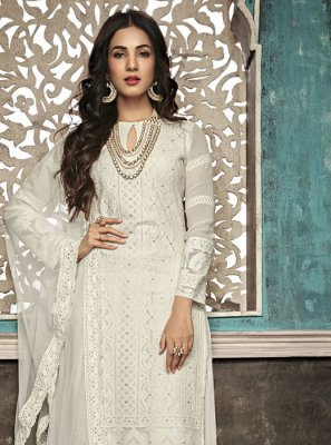 White Color Salwar Suit