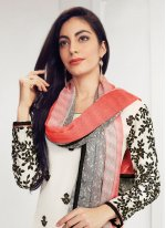 White Festival Salwar Suit