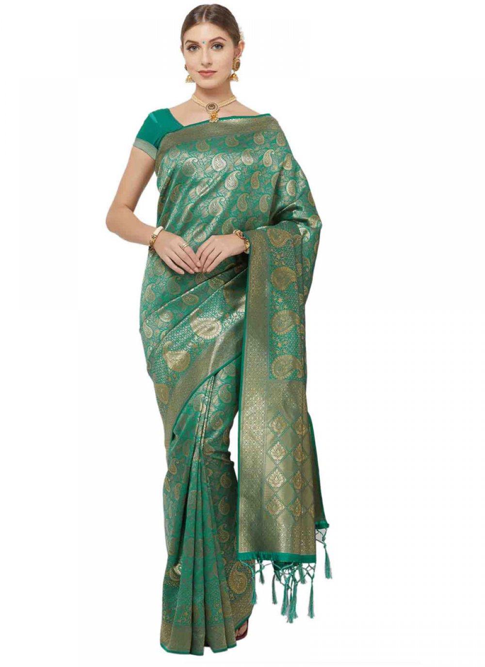 Woven Art Silk Classic Saree