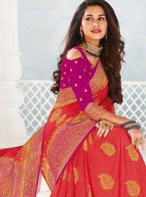 Woven Contemporary Saree
