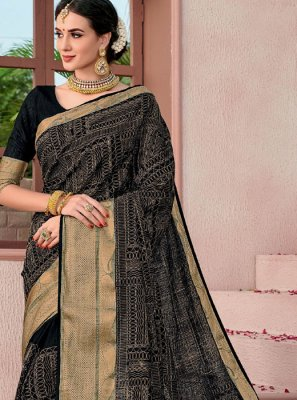 Woven Cotton Classic Designer Saree