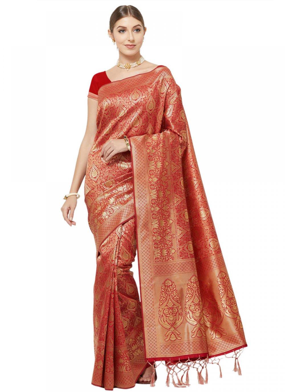 Woven Party Classic Designer Saree