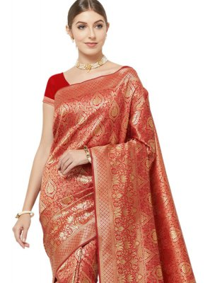 Woven Party Classic Designer Saree