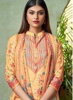 Yellow Bollywood Salwar Kameez