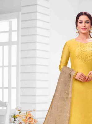 Yellow Salwar Suit