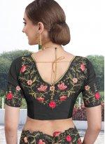 Zari Black Traditional Designer Saree