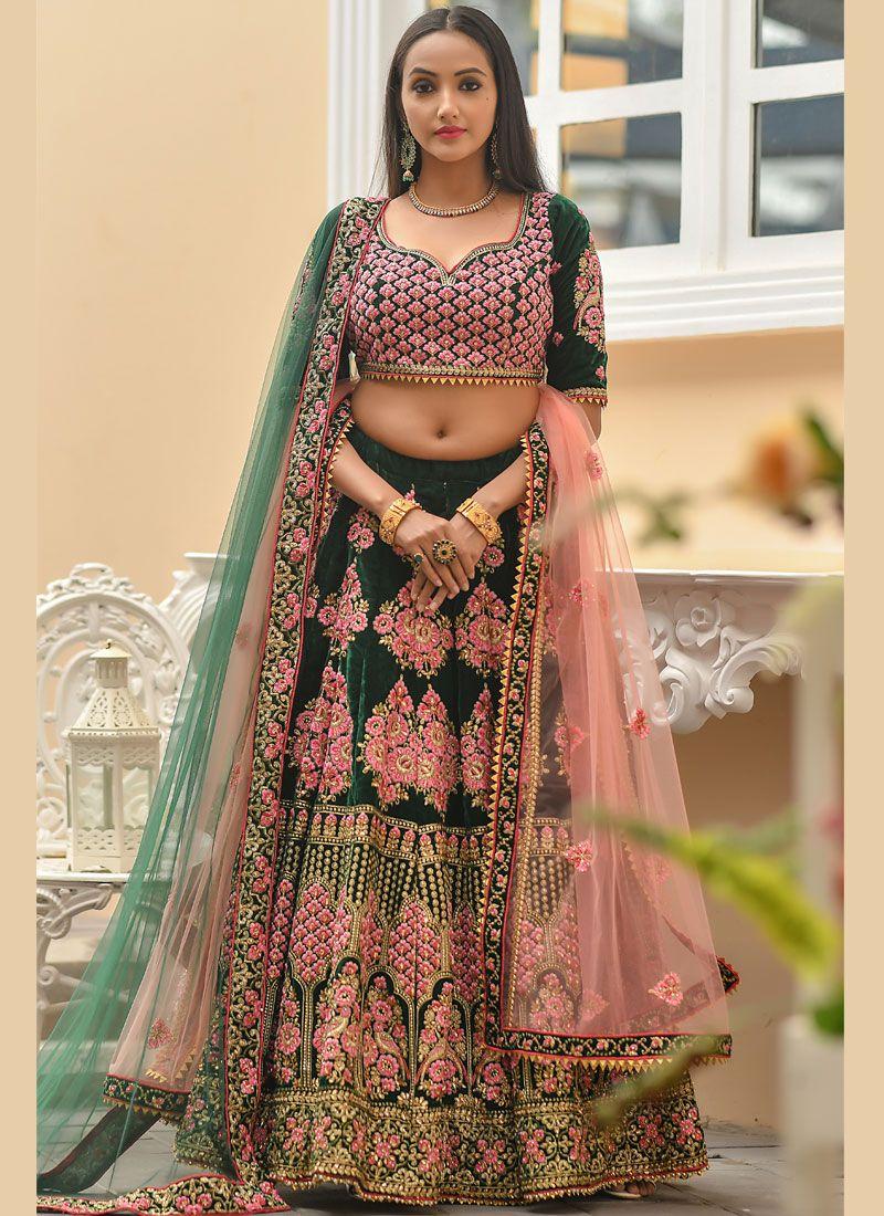 Zari Bridal Designer Lehenga Choli