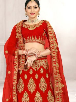 Zari Bridal Lehenga Choli