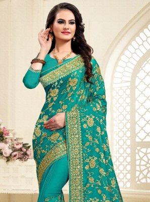 Zari Green Classic Saree
